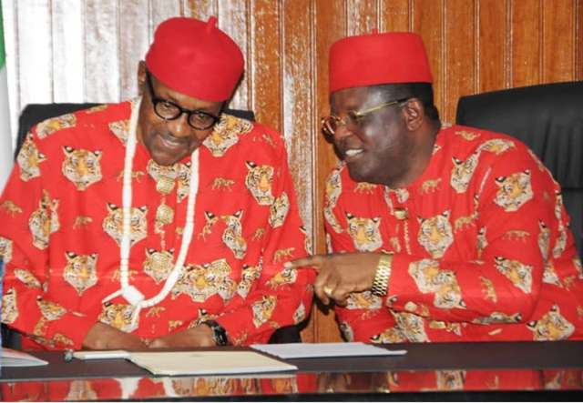 Breaking: Ebonyi State Governor defects from PDP to APC