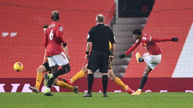 Marcus Rashford's injury-time strike seals 3 point for Man United