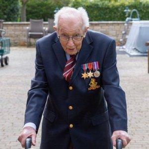 War Veteran, Captain Sir Tom Moore Is Dead