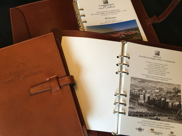 Hand-Made Leather Campaign Journals