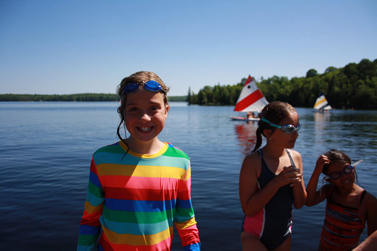 Connect with nature at summer camp