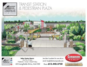 Longfields Square -Transit Station and Pedestrian Plaza