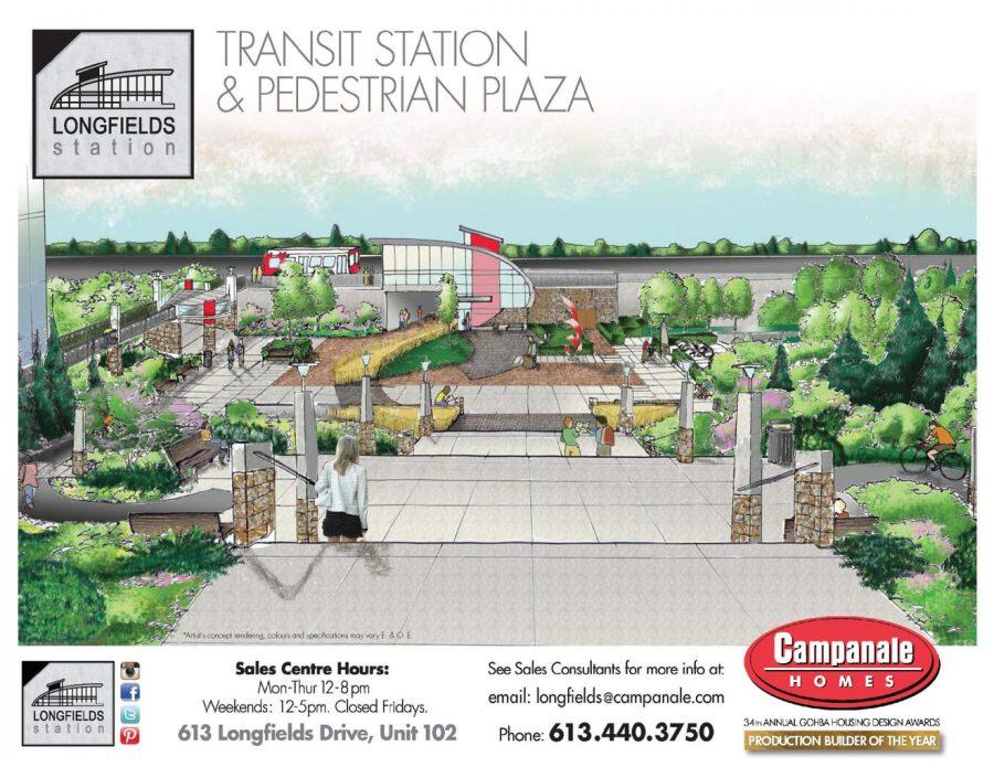Longfields Station - Transit Station and Pedestrian Plaza