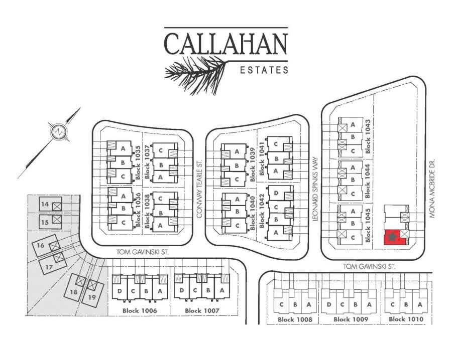 Callahan Estates Site Map Arnprior