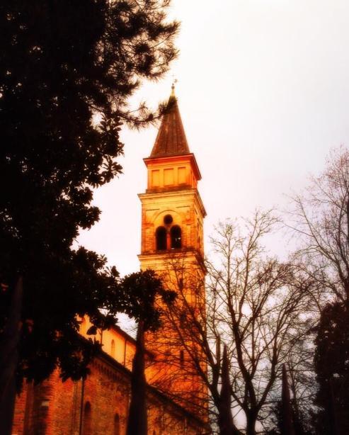 Torre della Basilica della Pieve di Guastalla