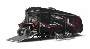 winnebago spyder toy hauler sport rv