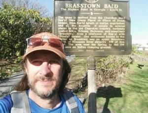 brasstown bald highest point in georgia hiking rv trip