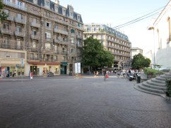 Zentrum von Grenoble