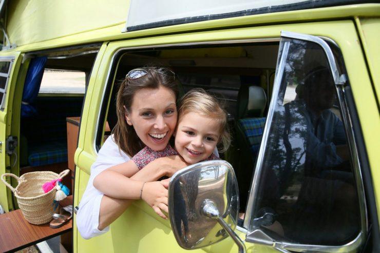 Kinder lieben den Campingurlaub im Wohnmobil