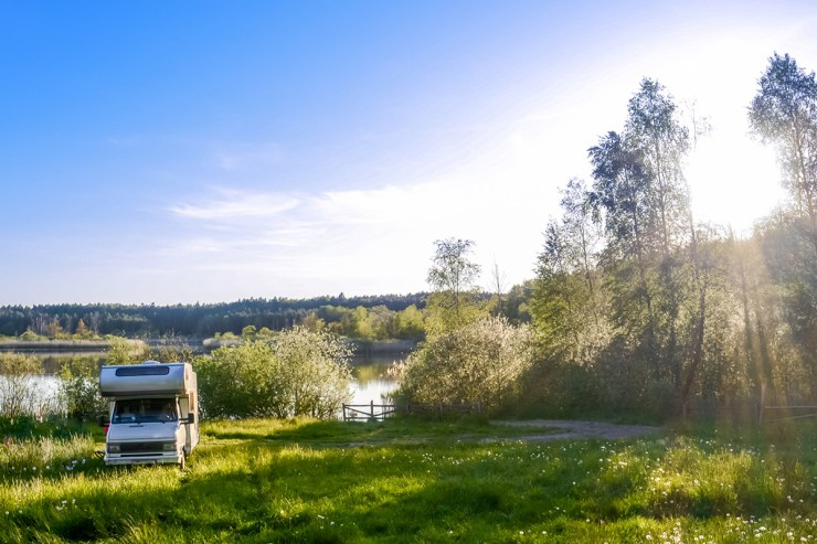 Beim Wohnmobilurlaub in Deutschland ist Wildcampen nicht erlaubt