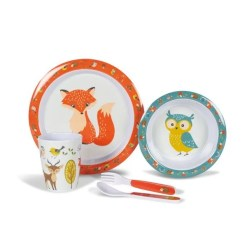 Kampa Woodlands Melamine Set