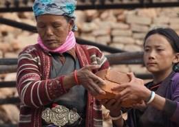 Donne al lavoro - Kathmandu