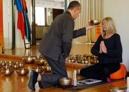 Dario Gasparato e Paola Rescia: la cerimonia - Master in Campane Tibetane