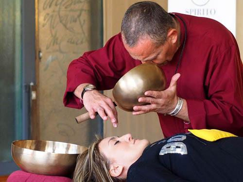 Corso di suonoterapia con le campane tibetane