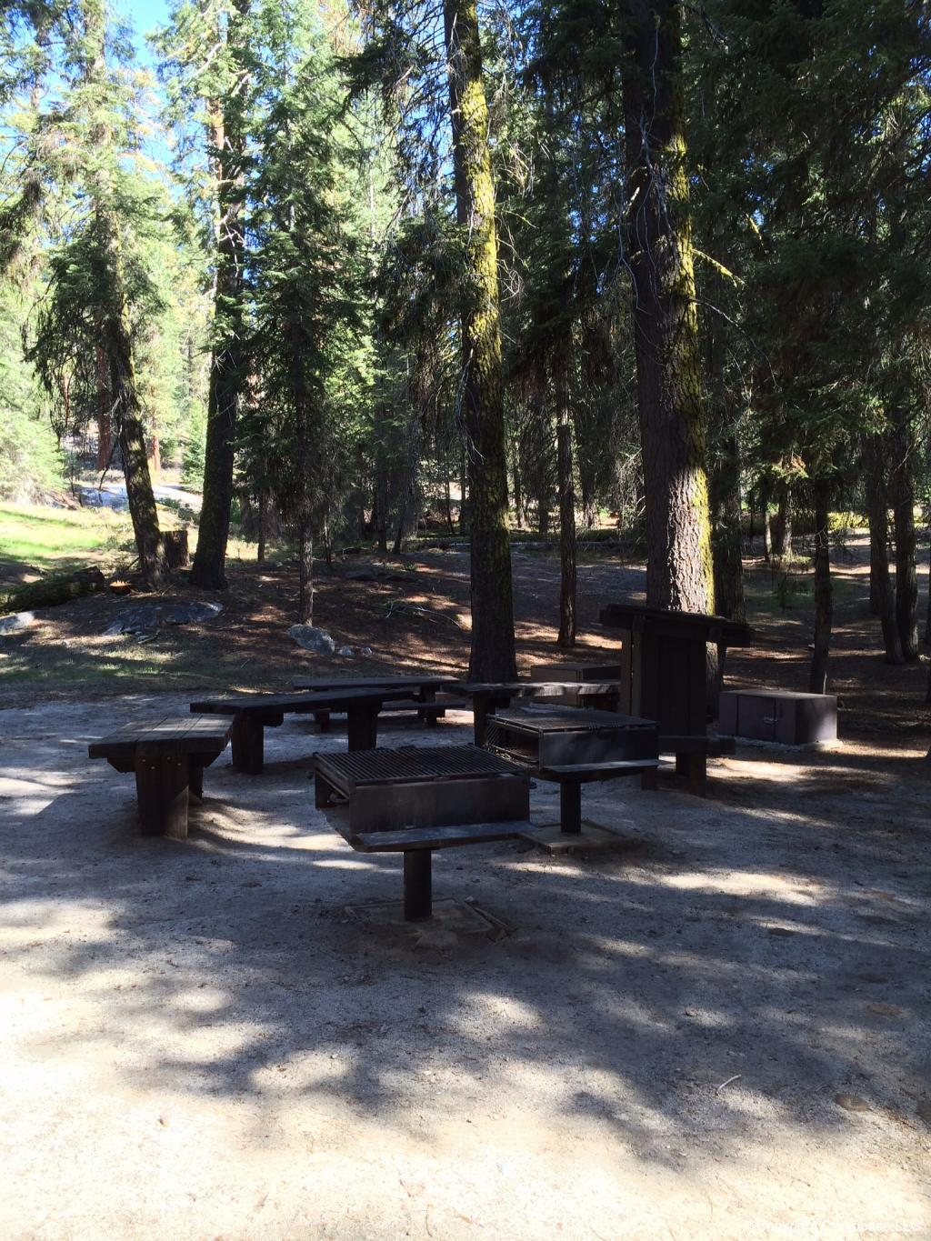 Cove Group Campground Sequoia NP Three Rivers California