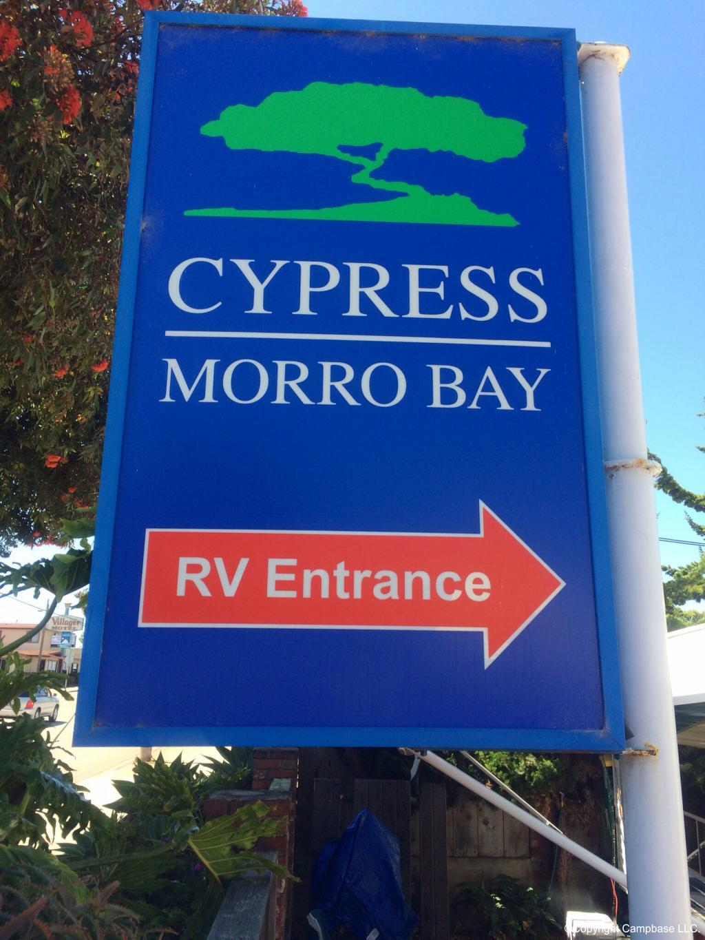Cypress RV Amp Mobile Home Park Morro Bay California