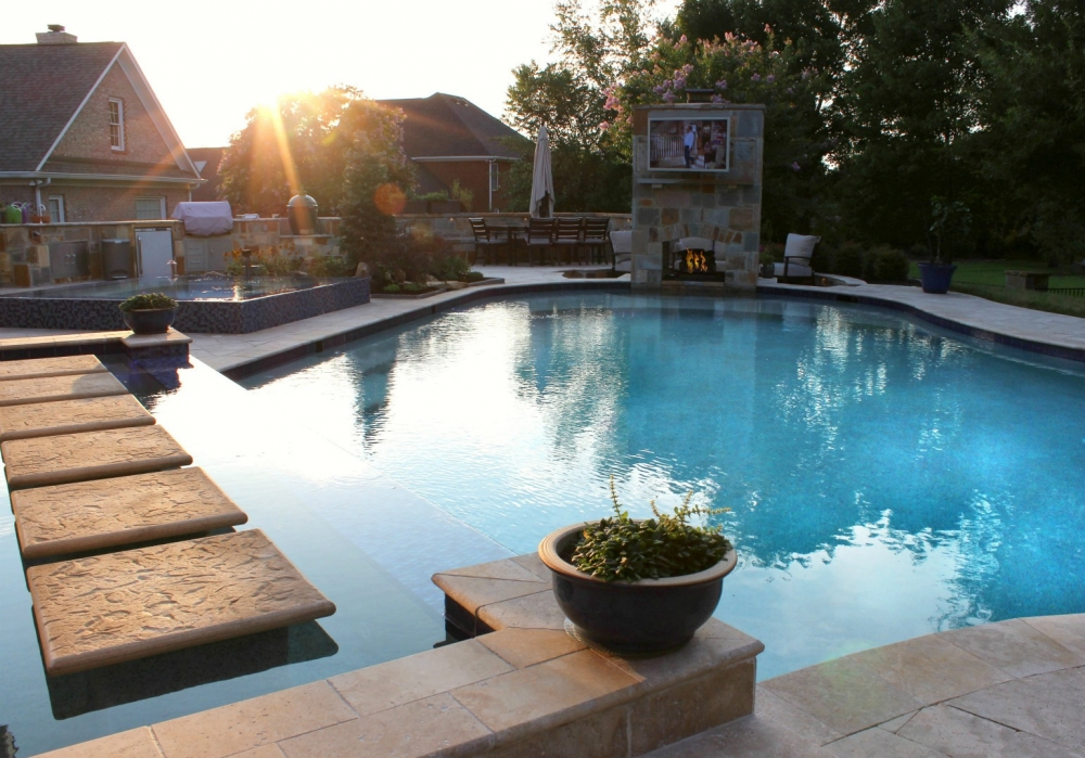 Cool Outdoor Living Products for 2018 - Campbell's Pool & Spa on Outdoor Living Spa id=40706