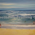 Original Arwork for Sale at Campbelltown Framing Gallery beach surf