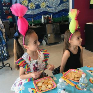 Ava's Trolls Birthday Party
