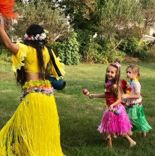 Gianna's Hawaiian Luau Birthday