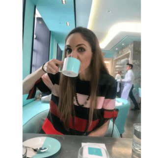 The Blue Box Cafe at Tiffany: My Experience
