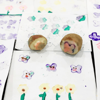 How to Make a Stamp From a Potato