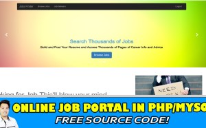 job portal in php