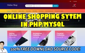online shopping system in php