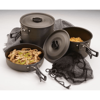 Texsport Cook Set The Trailblazer Camping Cookware Pots Pans