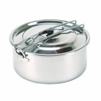 Stansport Solo Stainless Steel Cook Pot (3/4-Liter)