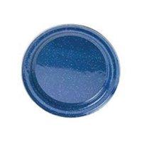 GSI® Stainless Steel Rim Enamel Plate