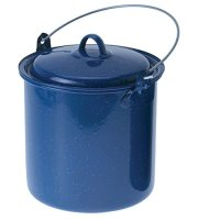 GSI Outdoors Straight Pot with Lid (Blue, 3.5-Quart)