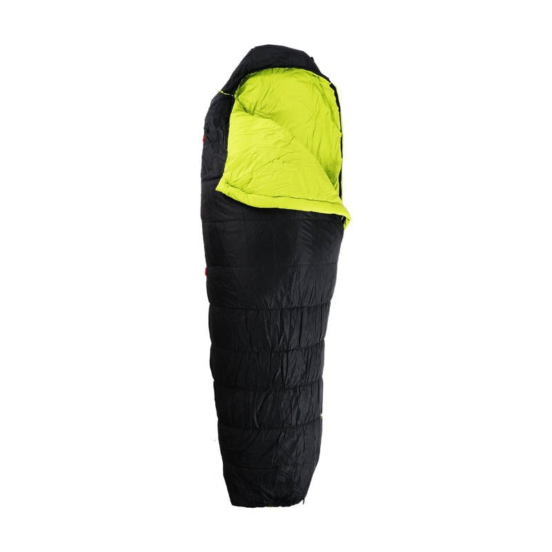First Ascent Amplify 900 CHARCOAL LIME open