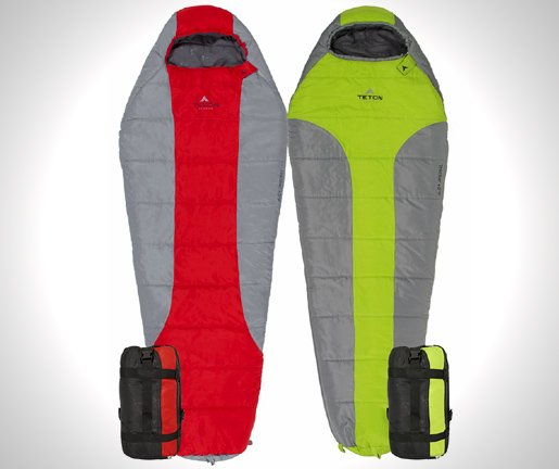 TETON Sports Tracker +5F Ultralight Sleeping Bag; Free Compression Sack Included