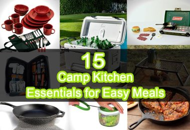 15 Camp Kitchen Essentials for Easy Meals
