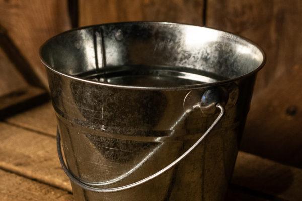 #40 Sliver Small Bucket