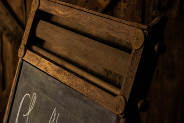 #33 Old School Chalk Board
