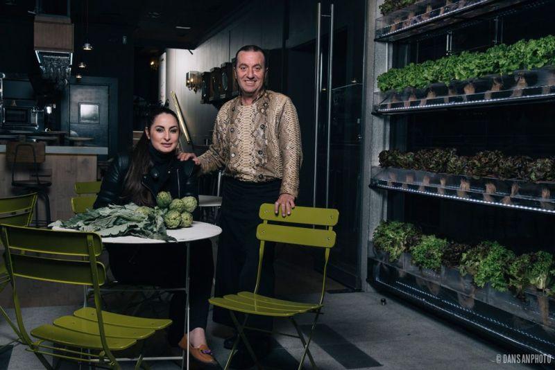 Floren Domezain y Mercedes Lázaro triunfan con su restaurante en Madrid