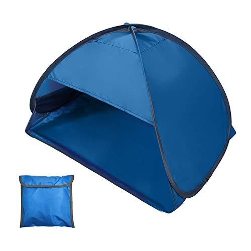 Tentes à CadreMini Abri De Tente De Plage Extérieur Instantané D'auvent De Parasol De Plage Portable avec étui De TransportTente De Camping