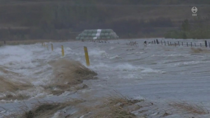 Torrential Rain Washes Away East Iceland Roads And Bridges