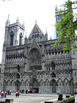 Cattedrale di Nidaros a Trondheim