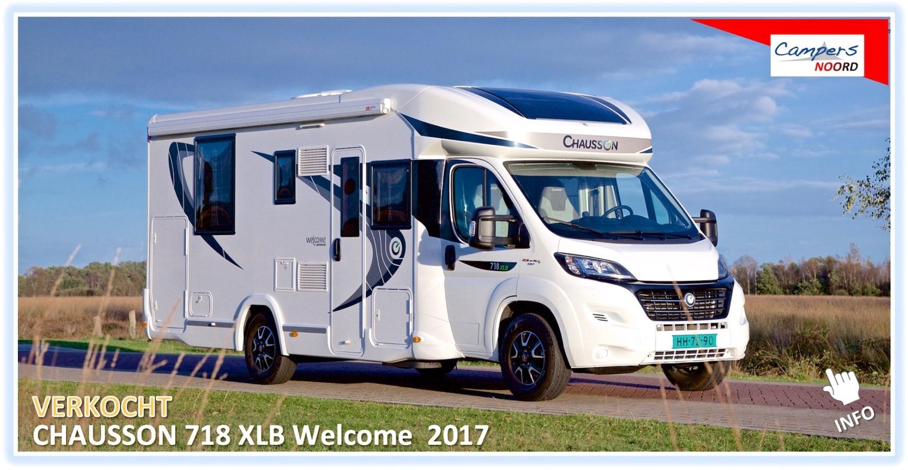 Campers te koop Chausson 718 XLB Welcome Campers Noord