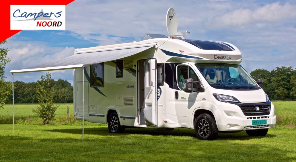 Prachtige Chausson 718 EB Welcome 2016 Campers Noord