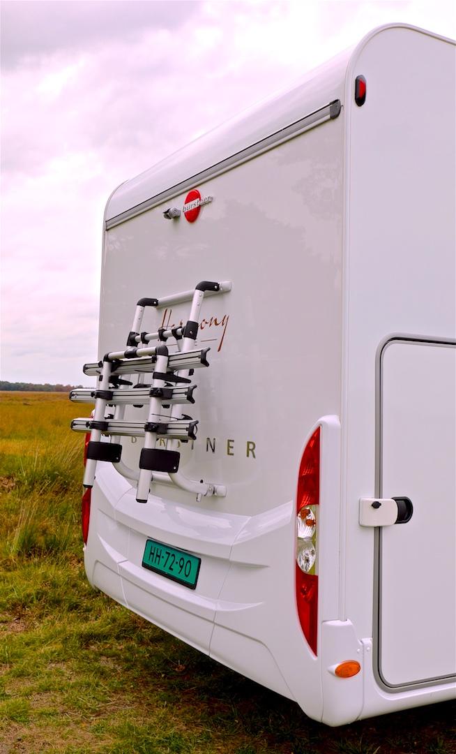 campers te koop Burstner I 734 Lyseo Harmony Line Campers Noord fietsenrek