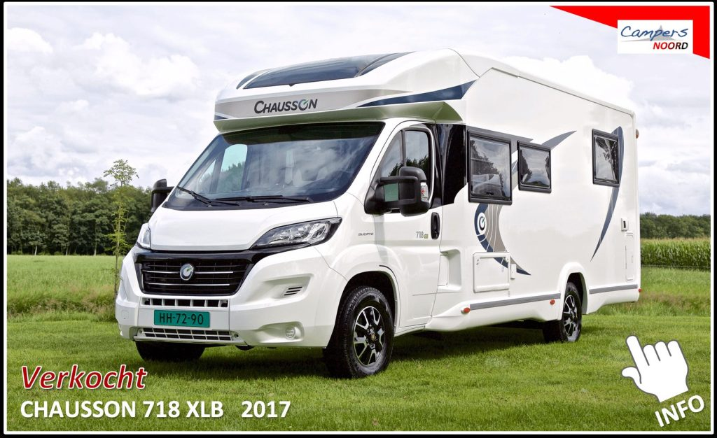 Chausson 718 XLB 2017 Campers Noord