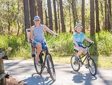 RV Park near State Trails Bike Riding