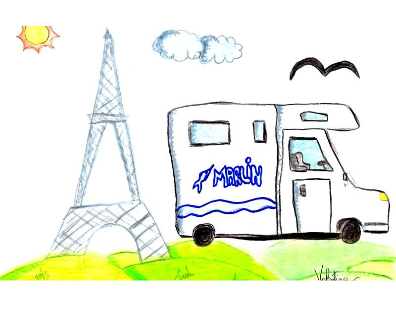 Valentina Carelli 11 anni: a Parigi