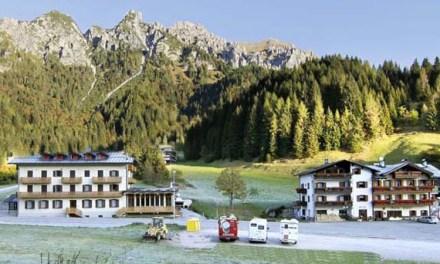 Uno strano trio sulle Dolomiti Bellunesi