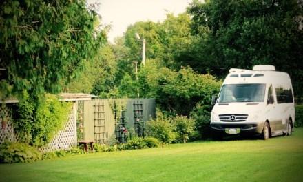Un'area sosta nel tuo giardino