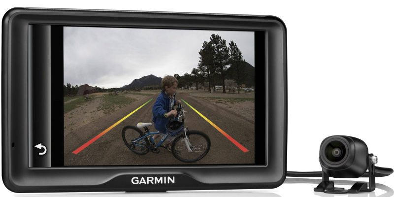 Fitting a Garmin Backup reversing camera